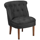 Flash Furniture Polyester Tufted Chair Black 2 Pack (2QYA01BK)