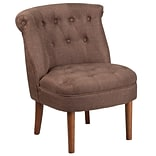 Flash Furniture Polyester Tufted Chair Brown 2 Pack (2QYA01BN)