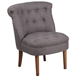 Flash Furniture Polyester Tufted Chair Gray 2 Pack (2QYA01GY)