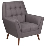 Flash Furniture Fabric Arm Chair Gray(QYB62GY)