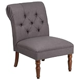 Flash Furniture Fabric Tufted Chair Gray(QYB82GY)