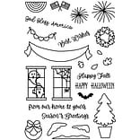 Avery Elle Welcome Home Seasons Clear Stamp Set, 4 x 6 (AE1730)