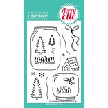 Avery Elle Warm Wishes Clear Stamp Set, 4 x 6 (AE1726)