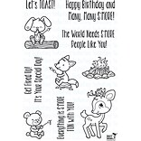 Your Next Stamp SMore Fun Clear Stamps, 4 x 6 (CYNS475)