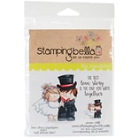 Stamping Bella Love Story Squidgy Cling Stamp, 6.5 x 4.5 (EB487)