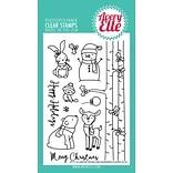 Avery Elle Winter Woodland Wonders Clear Stamp Set, 4 x 6 (AE1734)