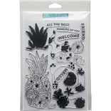 Concord & 9th Pineapple Perfection Clear Stamps, 6 x 8 (10249)