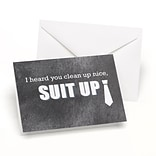 Hortense B. Hewitt Suit Up Wedding Day Card (54831ST)