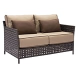 Zuo Pinery Sofa Brown & Beige (703792)