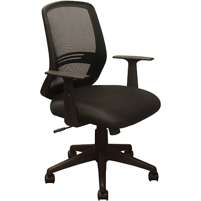 Advantage Mesh Back Fabric Computer and Desk Chair, Black (KB-2012-BLK)