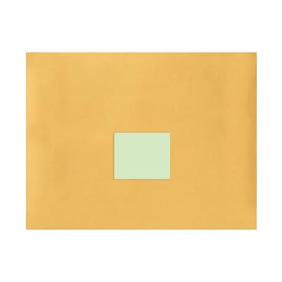 LUX 4 x 3.33 Standard Shipping Labels, 6 Per Sheet (50/Pack), Pastel Green (96PG-50)