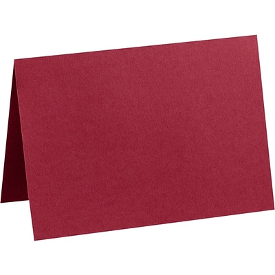 LUX A6 Folded Card (4 5/8 x 6 1/4) 50/Pack, Garnet (EX5030-26-50)