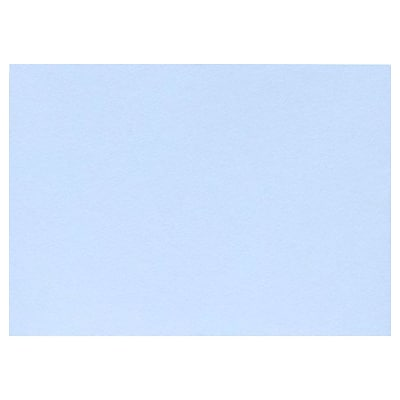 LUX A7 Flat Card (5 1/8 x 7) 50/Pack, Baby Blue (EX4040-13-50)