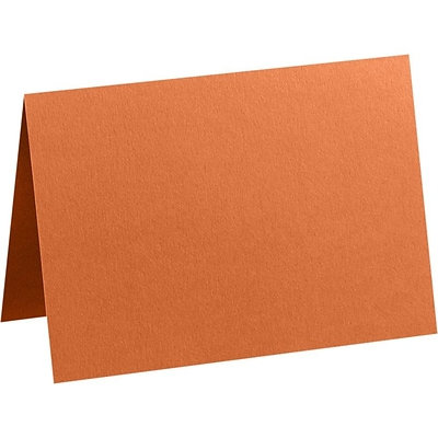 LUX A2 Folded Card (4 1/4 x 5 1/2 Folded Size) 50/Pack, Rust (EX5020-28-50)