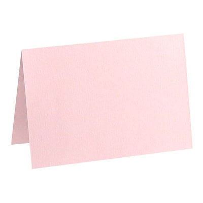 LUX A7 Folded Card (5 1/8 x 7 ) 50/Pack, Candy Pink (EX5040-14-50)