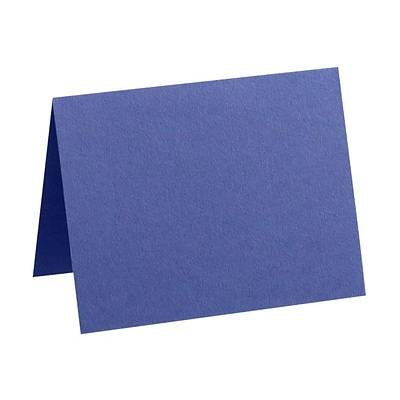 LUX A7 Folded Card (5 1/8 x 7 ) 50/Pack, Boardwalk Blue (EX5040-23-50)