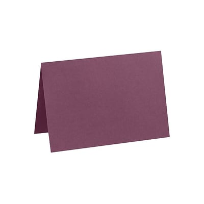 LUX A7 Folded Card (5 1/8 x 7) 50/Pack, Vintage Plum (LUX-5040-104-50)