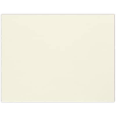 LUX A2 Flat Card (4 1/4 x 5 1/2) 50/Pack, Natural (A2CN-50)