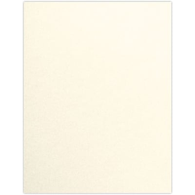 LUX 8 1/2 x 11 Paper 50/Pack, Champagne Metallic (4040-WPC-50)