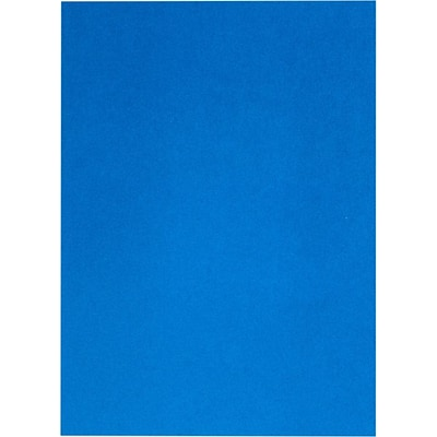 LUX 8 1/2 x 11 Cardstock 50/Pack, Boutique Blue (FA81211-C-02-50)