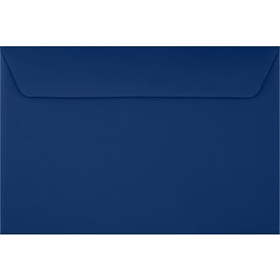 LUX 6 x 9 Booklet Envelopes 50/Pack, Navy (LUX-4820-103-50)