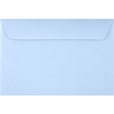 LUX 6 x 9 Booklet Envelopes 1000/Pack, Baby Blue (EX4820-13-1000)