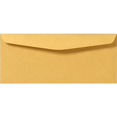 LUX #10 Regular Envelopes (4 1/8 x 9 1/2) 250/Pack, 24lb. Brown Kraft (92031-250)