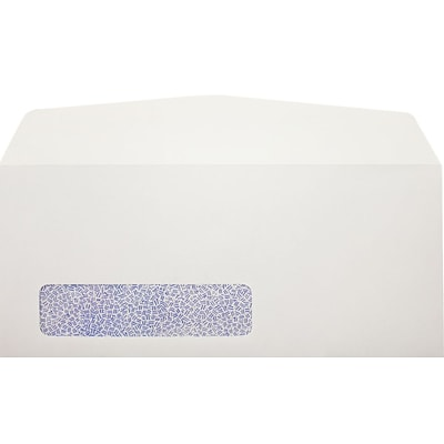 LUX #10 Window Envelopes (4 1/8 x 9 1/2) 250/Pack, 24lb. Bright White (Laser Safe) w/ Security Tint (92021-250)
