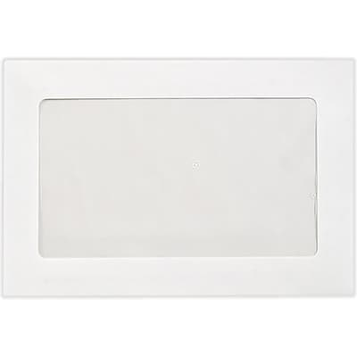 LUX 6 x 9 Full Face Window Envelopes 50/Pack, 28lb. Bright White (FFW-69-50)