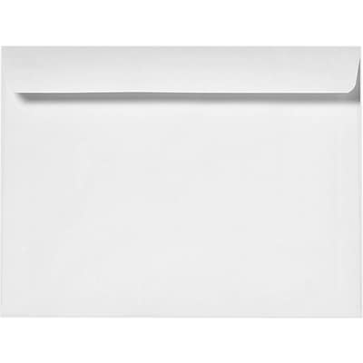 LUX 9 1/2 x 12 5/8 Booklet Envelopes 50/Pack, 24lb. Bright White (16014-50)