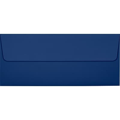 LUX #10 Square Flap Invitation Envelopes (4 1/8 x 9 1/2) 50/Pack, Navy (LUX-4860-103-50)