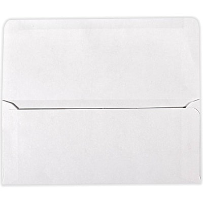LUX #9 Remittance Envelopes (3 7/8 x 8 7/8 Closed) 500/Pack, 24lb. Bright White (17855-500)