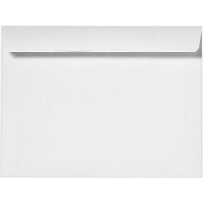 LUX 6 1/2 x 9 1/2 Booklet Envelopes 1000/Pack, 24lb. Bright White (12229-1000)