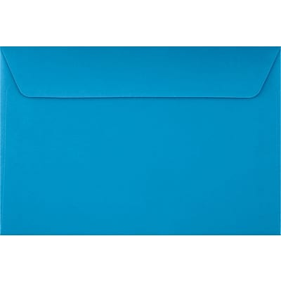 LUX 6 x 9 Booklet Envelopes 50/Pack, Pool (LUX-4820-102-50)