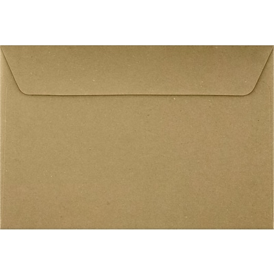LUX 6 x 9 Booklet Envelopes 50/Pack, Grocery Bag (4820-GB-50)