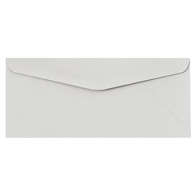 LUX #10 Regular Envelopes (4 1/8 x 9 1/2) 50/Pack, Pastel Gray (60190-50)