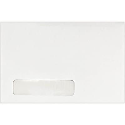 LUX 6 x 9 Window Envelopes 500/Pack, 24lb. Bright White (22646-500)