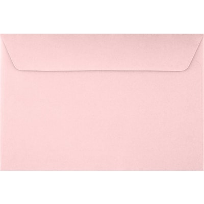 LUX 6 x 9 Booklet Envelopes 50/Pack, Candy Pink (EX4820-14-50)