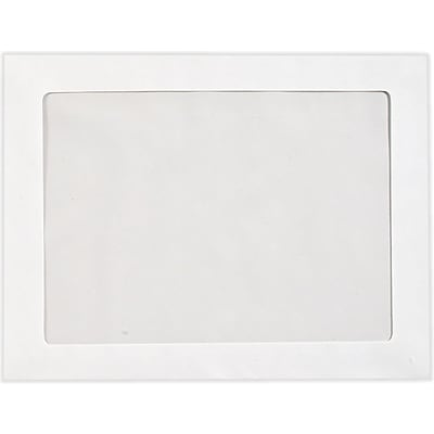 LUX 9 1/2 x 12 1/2 Full Face Window Envelopes 50/Pack, 28lb. Bright White (FFW-125-50)