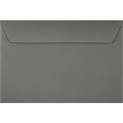 LUX 6 x 9 Booklet Envelopes 50/Pack, Smoke (EX4820-22-50)