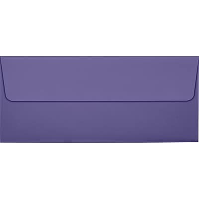 LUX #10 Square Flap Invitation Envelopes (4 1/8 x 9 1/2) 50/Pack, Wisteria (LUX-4860-106-50)