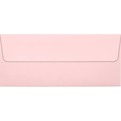 LUX #10 Square Flap Envelopes (4 1/8 x 9 1/2) 50/Pack, Candy Pink (EX4860-14-50)