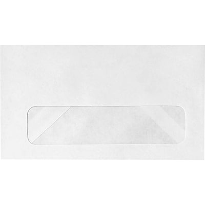 LUX #6 3/4 Window Envelopes (3 5/8 x 6 1/2) 500/Pack, 24lb. Bright White (18002-500)
