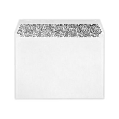 LUX 9 x 12 Booklet Envelopes 500/Pack, White w/Security Tint (49783-500)