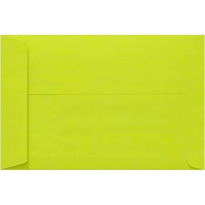 LUX 9 x 12 Open End Envelopes 250/Pack, Wasabi (LUX4894L22250)