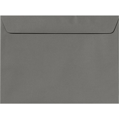 LUX 9 x 12 Booklet Envelopes 500/Pack, Smoke (EX4899-22-500)