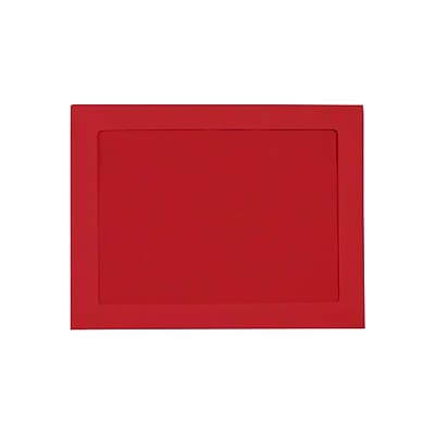 LUX 9 x 12 Full Face Window Envelopes 50/Pack, Ruby Red (FFW-912-18-50)