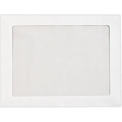 LUX 9 x 12 Full Face Window Envelopes 250/Pack, 28lb. Bright White (FFW-912-250)
