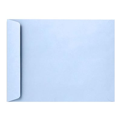 LUX 9 x 12 Open End Envelopes 250/Pack, Baby Blue (EX4894-13-250)