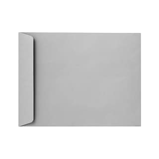 LUX 8 3/4 x 11 1/4 Open End Envelopes 50/Pack, 28lb. Gray Kraft (7450-GK-50)